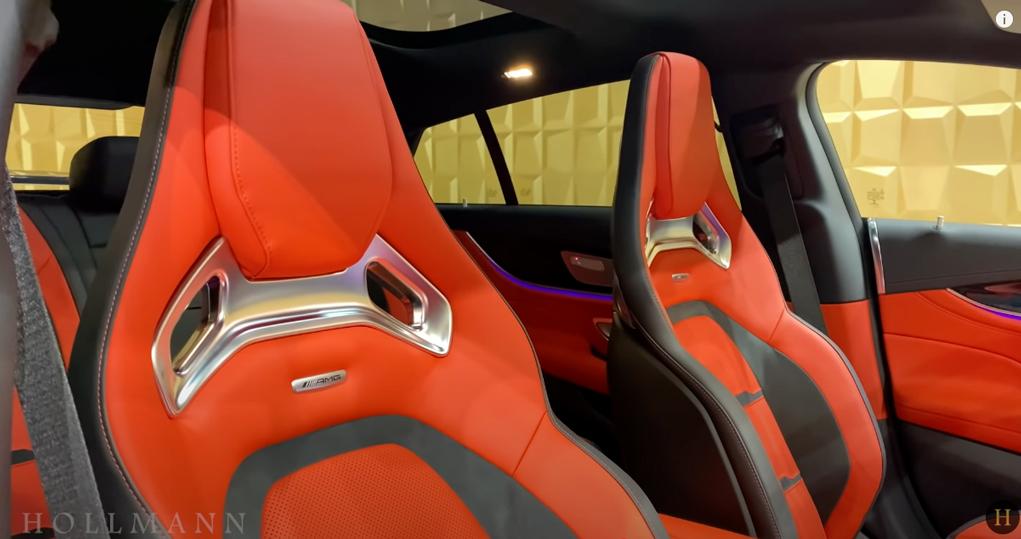 メルセデス・ベンツ GT 63S AMG 4M ブラバス800:シート