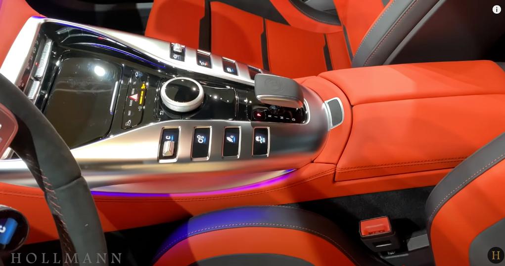 メルセデス・ベンツ GT 63S AMG 4M ブラバス800:センターコンソール