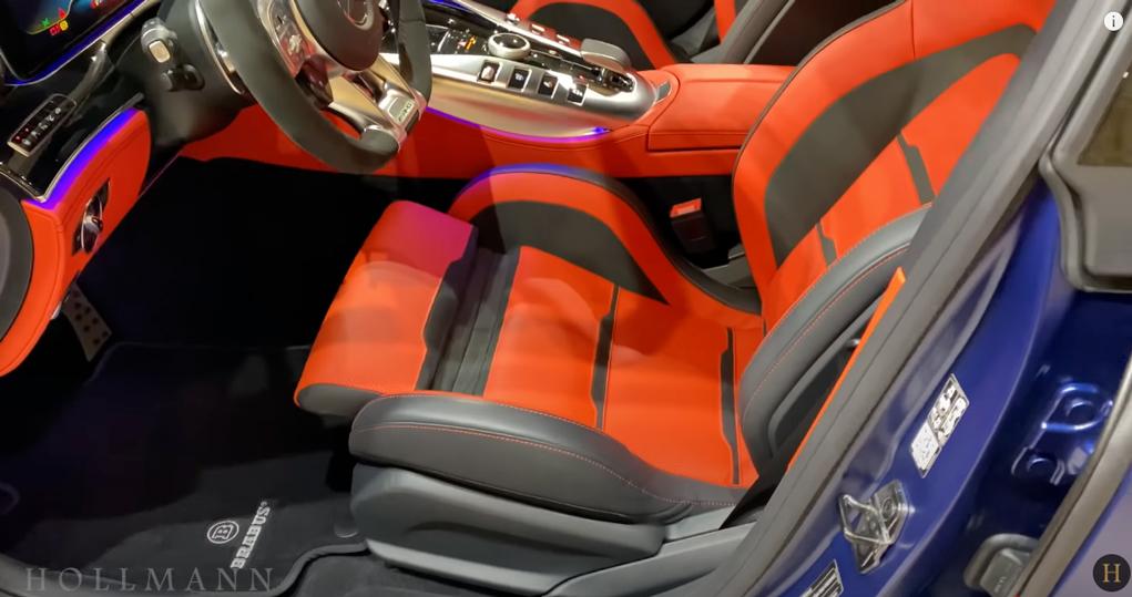 メルセデス・ベンツ GT 63S AMG 4M ブラバス800:シートの調整