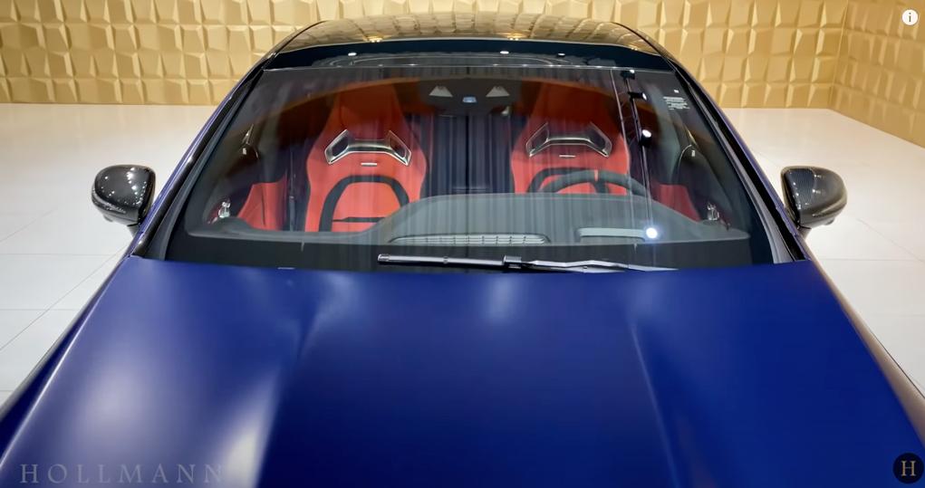 メルセデス・ベンツ GT 63S AMG 4M ブラバス800(ブルー):インテリアカラー