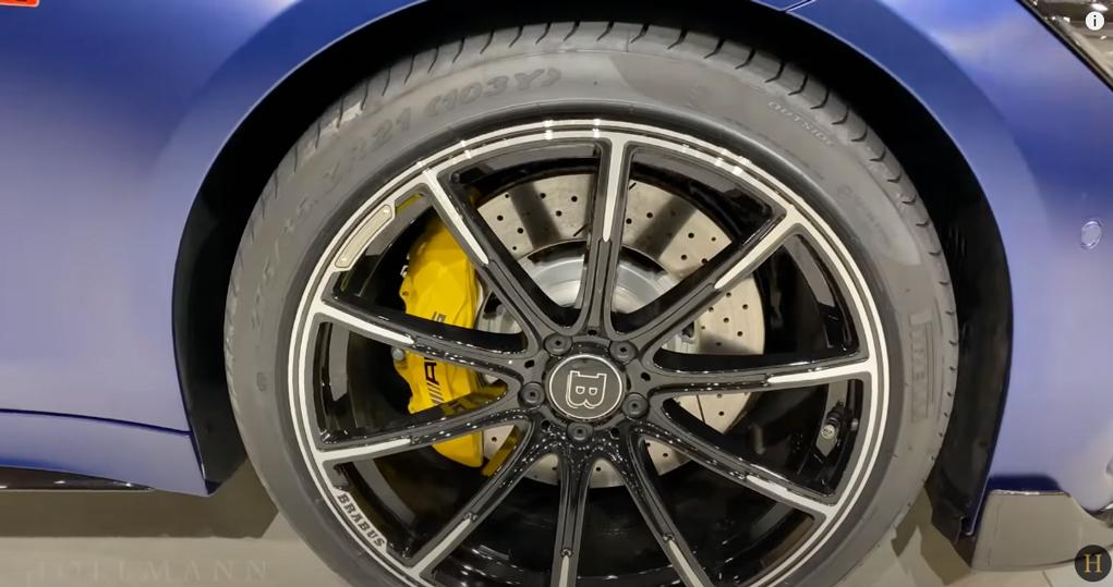 メルセデス・ベンツ GT 63S AMG 4M ブラバス800(ブルー):ホイールデザイン
