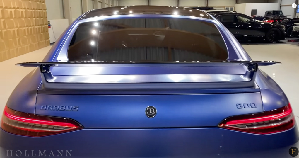 メルセデス・ベンツ GT 63S AMG 4M ブラバス800(ブルー):リアビュー