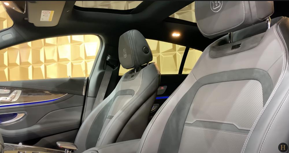 メルセデス・ベンツGT63 S AMG BRABUS:運転席シート