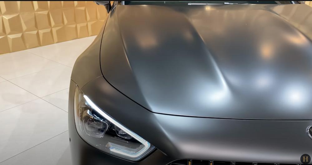 メルセデス・ベンツGT63 S AMG BRABUS:塗装