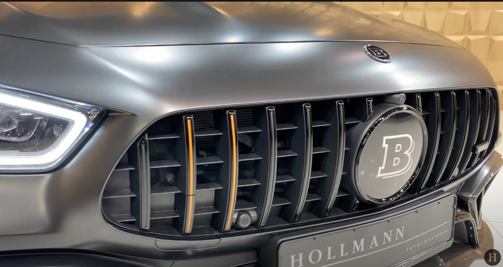 メルセデス・ベンツGT63 S AMG BRABUS:グリル