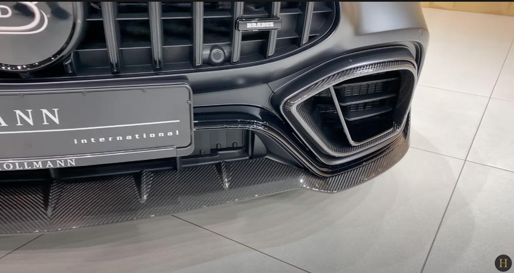 メルセデス・ベンツGT63 S AMG BRABUS:リアバンパー