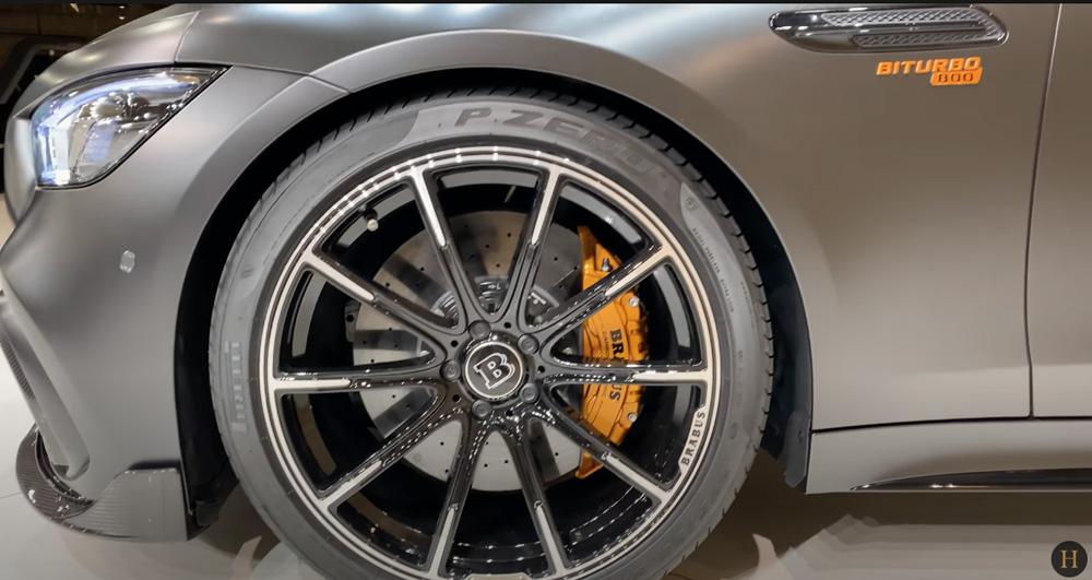 メルセデス・ベンツGT63 S AMG BRABUS:ホイール