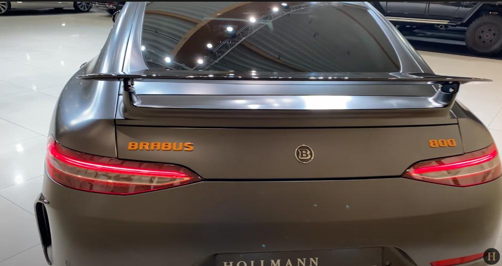 メルセデス・ベンツGT63 S AMG BRABUS:リアデザイン