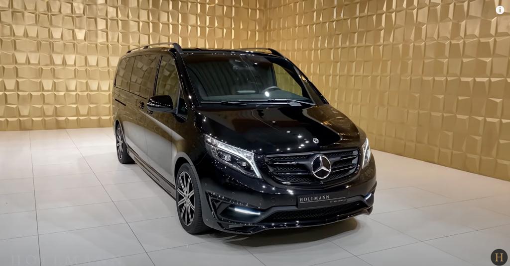 メルセデス・ベンツ V300d 4M カスタマイズド(ブラック):外観デザイン
