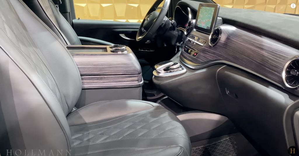 メルセデス・ベンツ V300d 4M カスタマイズド:内装、インテリア