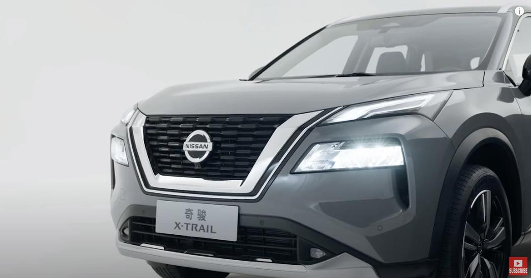 日産エクストレイル 2022 中国 外装:ヘッドライト