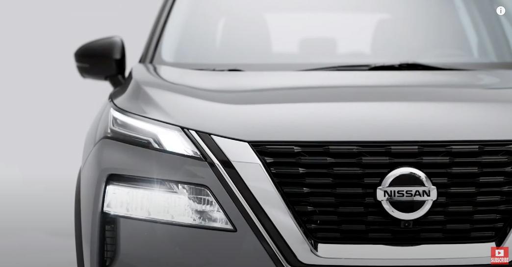 日産エクストレイル 2022 中国 外装:フロントグリルとヘッドライト