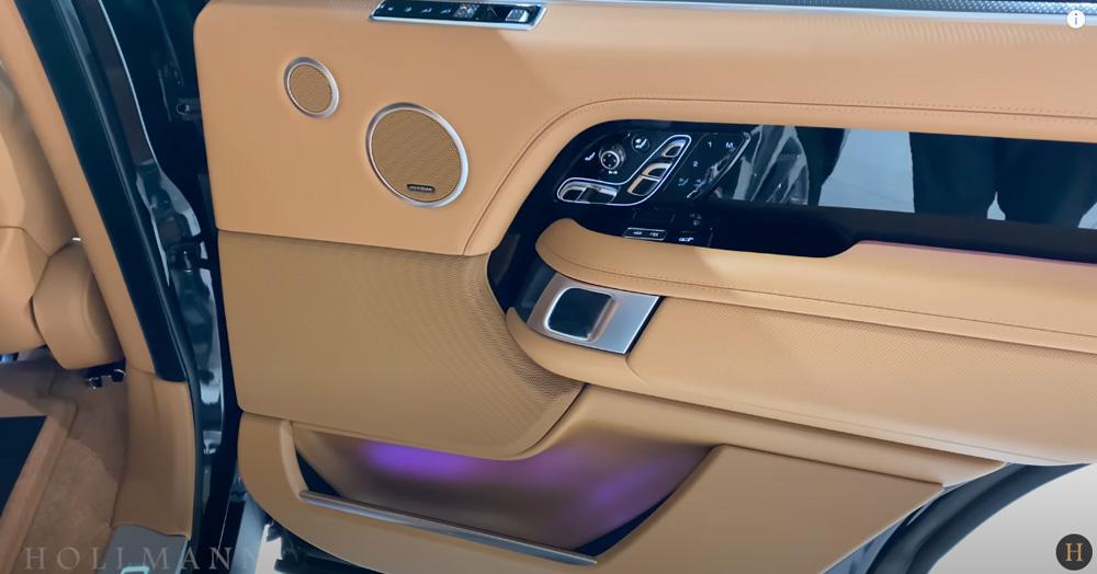 レンジローバー 5.0 V8:ドアトリムデザイン
