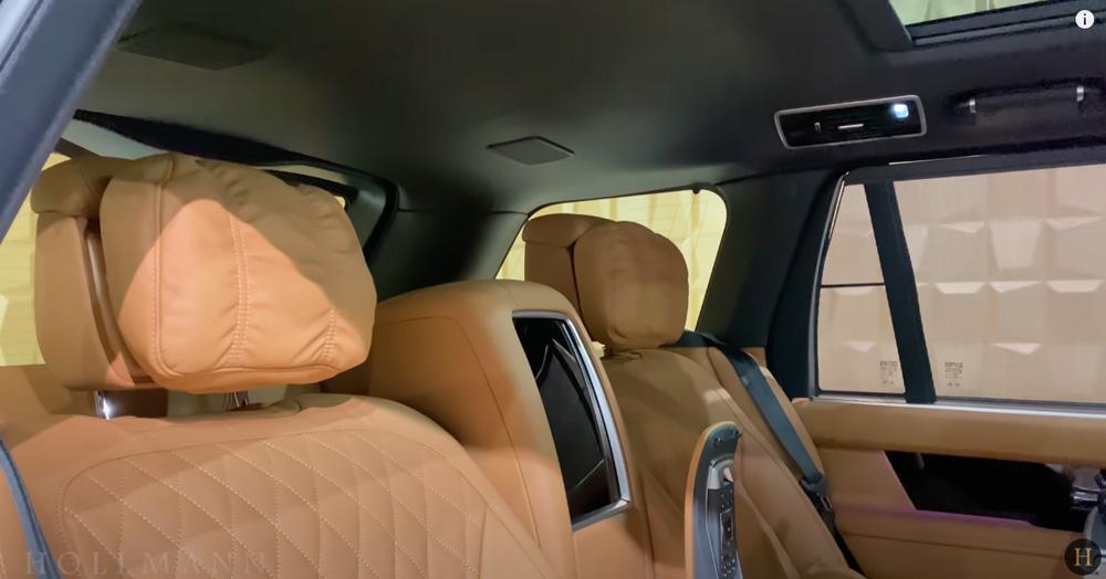 レンジローバー 5.0 V8:ヘッドレストの枕
