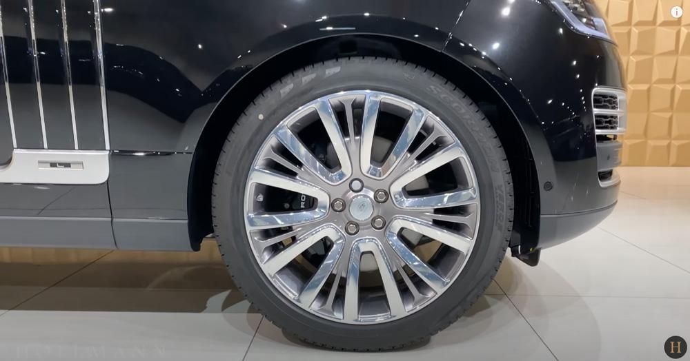 レンジローバー 5.0 V8:ホイールデザイン