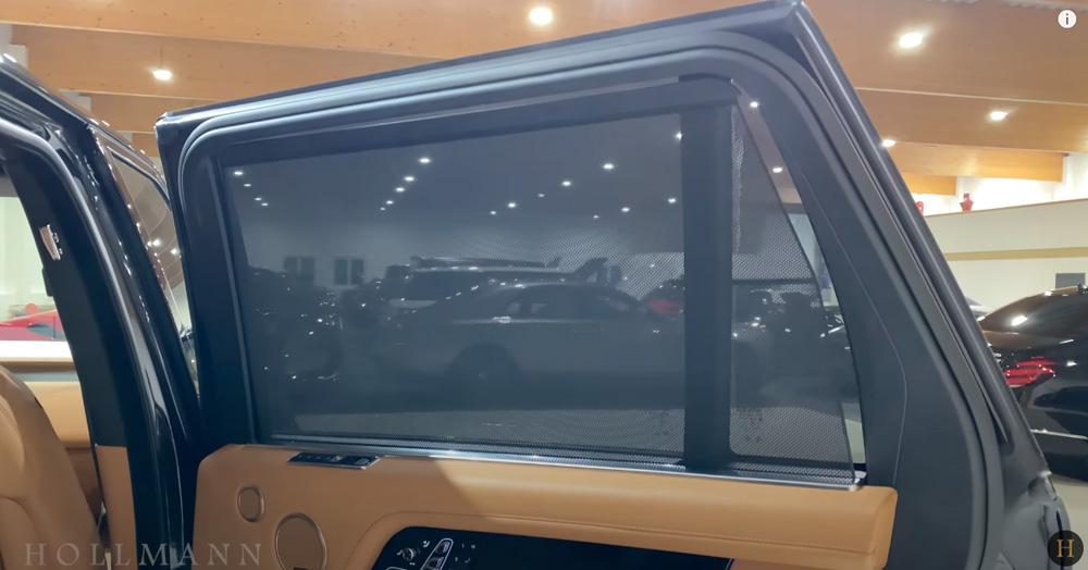 レンジローバー 5.0 V8:窓のシェード