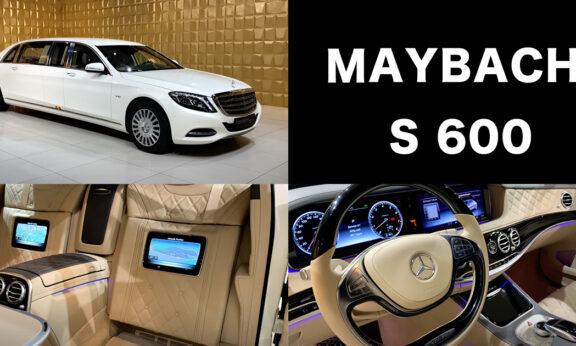 メルセデス・ベンツ S600 マイバッハ(プルマン)ホワイト 内装・外装
