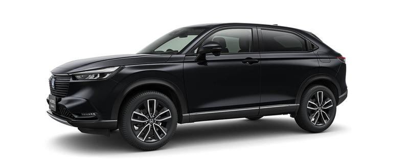 Honda 新型ヴェゼル 黒系カラー|クリスタルブラック・パール