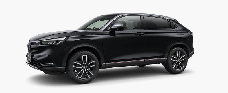 Honda 新型ヴェゼル 黒系カラー|クリスタルブラック・パール&シルバー